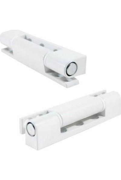 Pimapen PVC Pencere ve Kapı Menteşesi 75 mm 2'li Beyaz