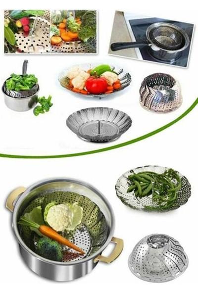 Yakut Buharda Sebze Pişirme Sepeti Haşlama Aparatı