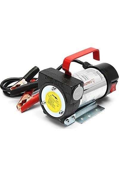 Staxx Power Kendinden Emişli 12V Elektrikli Taşınabilir Yakıt Sıvı Yağ Aktarma Mazot Pompası
