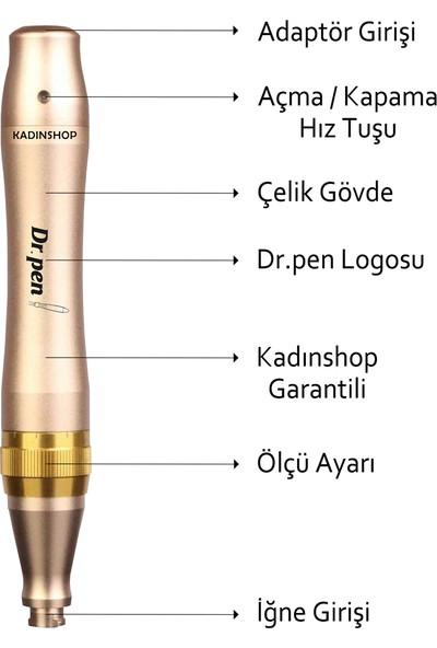 Dr. Pen M5-C Kablolu Dermapen (Dr. Pen Türkiye Garantili) Mikro Iğneleme Cihazı Derma Pen Dermaroller Cihazı