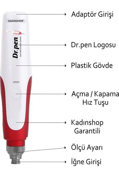 Dr. Pen N2-W Şarjlı Dermapen (Dr. Pen Türkiye Garantili) Mikro Iğneleme Cihazı Derma Pen Dermaroller Cihazı
