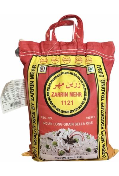 Zarrin Mehr 1121 Basmati Pirinç 5 kg