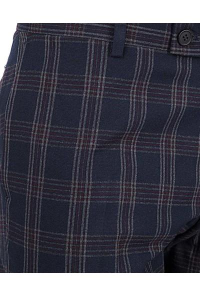 Twn Yok Lacivert Kumaş Pantolon