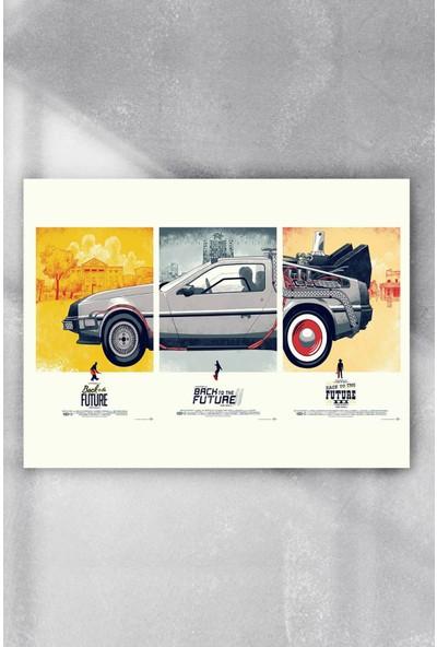 Postermanya Back To The Future Film Afişi Poster 90 x 130 cm