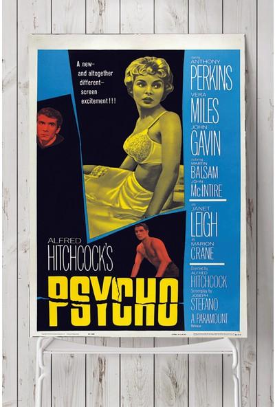 Postermanya Psycho - Sapık Film Afişi Poster 70 x 100 cm