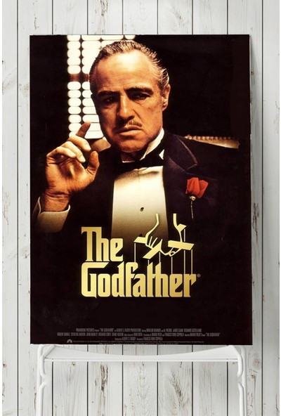 Postermanya The Godfather - Baba Film Afişi Poster 60 x 90 cm