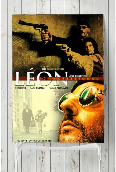 Postermanya Leon-Sevginin Gücü Film Afişi 50 x 70 cm