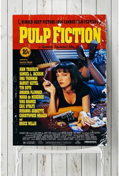 Postermanya Pulp Fiction-Ucuz Roman Film Afişi 50 x 70 cm