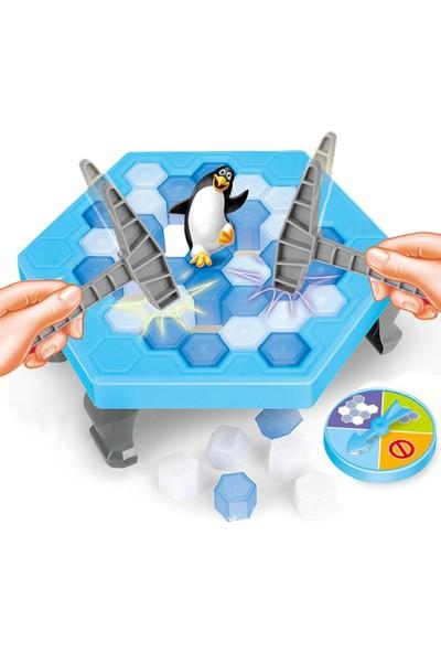 Gökkuşağı Buz Tuzağı Oyunu Penguen Düşürmeli Buz Kırma Zeka ve Strateji
