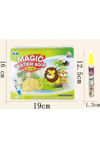 Mofy Baby Magic Water Sihirli Boyama Kitabı Orman Hayvanları