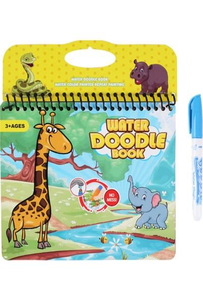 Mofy Baby Magic Water Kitabı Orman Diyarı Sihirli Boyama