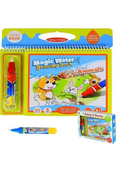 Mofy Baby Magic Water Sihirli Boyama Kitabı Hayvanlar Alemi