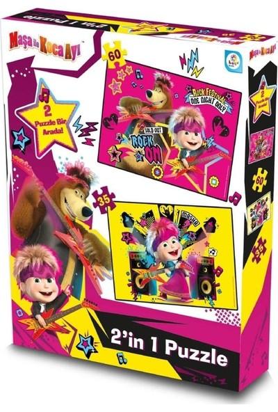 Laço Kids Maşa ile Koca Ayı 2'li Puzzle