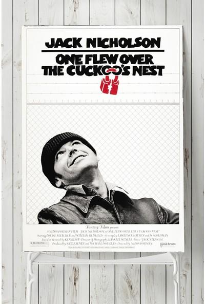 Postermanya One Flew Over the Cuckoos Nest-Guguk Kuşu Film Afişi 50 x 70 cm