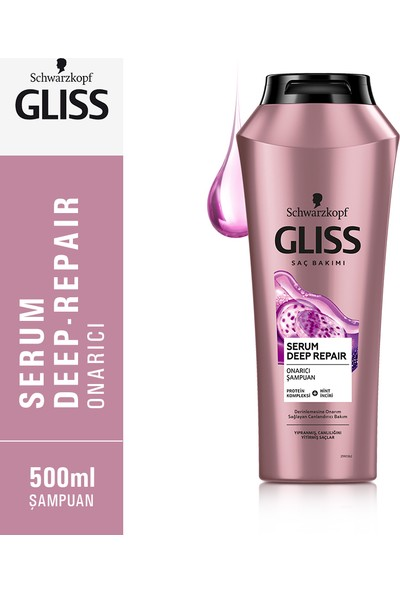 Gliss Serum Deep Repaır Şampuan  525 Ml
