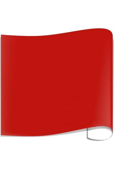Carbon Kırmızı Folyo Yapışkanlı Mat Kırmızı Kaplama Folyosu
