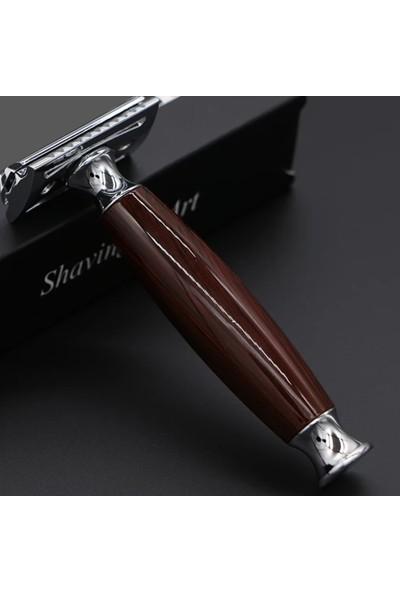 Qualis Shave Q9 Tıraş Makinesi + Fırça + Kase + 5 Adet Jilet