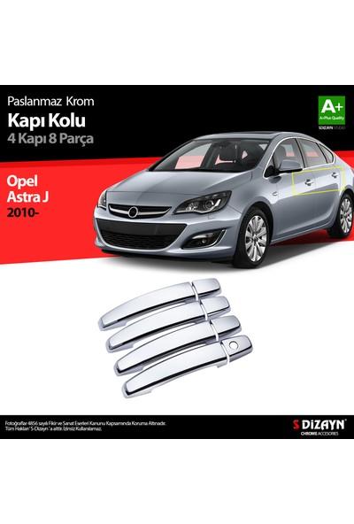 S-Dizayn Opel Astra J Krom Kapı Kolu 4 Kapı 2010 Üzeri A+Kalite