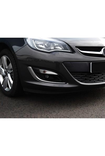 S-Dizayn Opel Astra J Krom Sis Farı Çerçevesi 2012 Üzeri