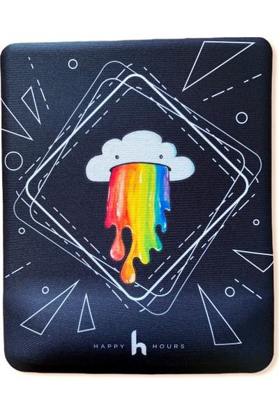 Happy Hours Color Maker Bilek Destekli Mouse Pad - Kare