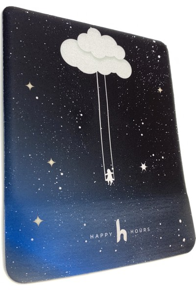 Happy Hours Swingirl Bilek Destekli Mouse Pad Kare - Happy Hours