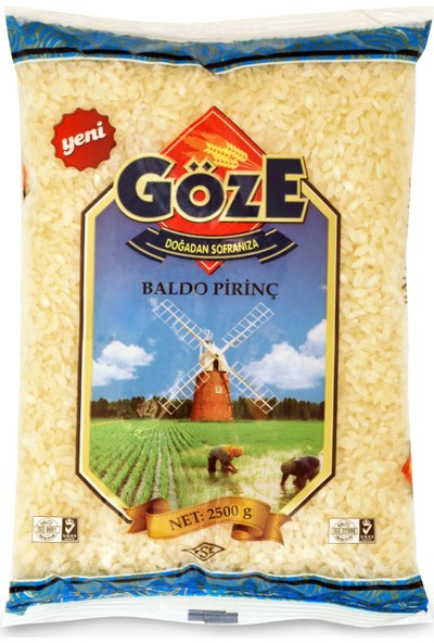 Göze Baldo Pirinç 2500 gr