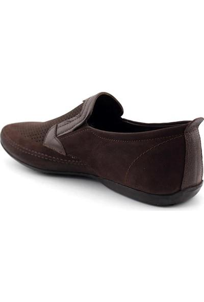 Tessera 116-31 Erkek Casual Ayakkabı-Kahve Nubuk