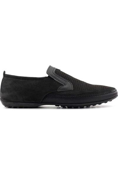 Tessera 116-31 Erkek Casual Ayakkabı-Siyah Nubuk
