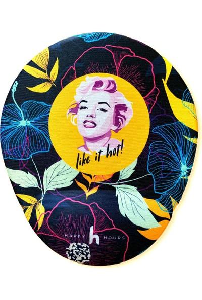 Happy Hours Monroe Bilek Destekli Mouse Pad