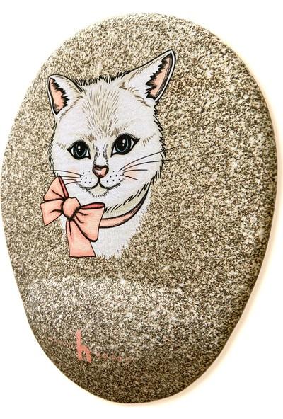 Happy Hours Kitty Kedi Bilek Destekli Mouse Pad Oval - Happy Hours