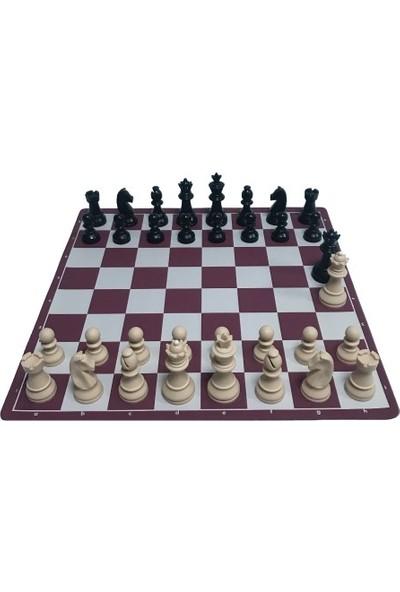 Yeni Satranç Satranç Takımı 95 mm - 650 gr - Çift Vezirli