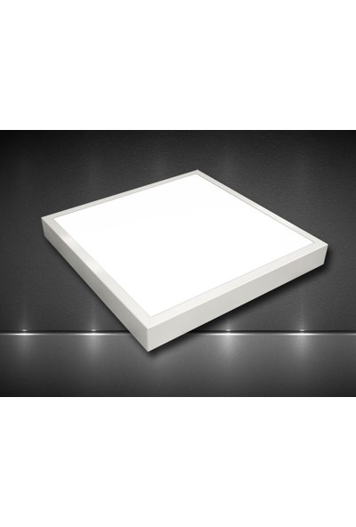 Real LED 54W 60X60 LED Panel Armatür Backlıght - Sıva Üstü - Beyaz Işık 10'lu