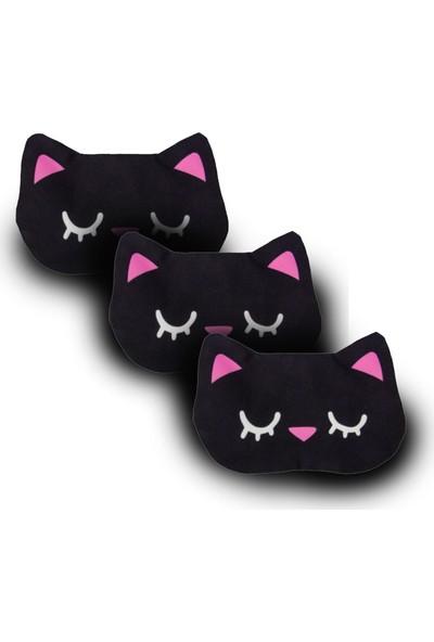 Purple Shopping 3 Adet Uyku Maskesi - Cat