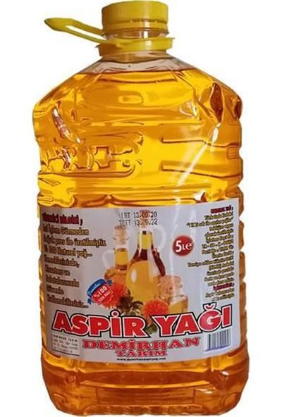 Demirhan Aspir Yağı Soğuk Sıkım 5 Lt