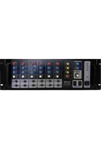 Denux Rd-600T 6 Kanal 600W 100V 1-16 Ohm Dijital Reverb Cami Anfisi
