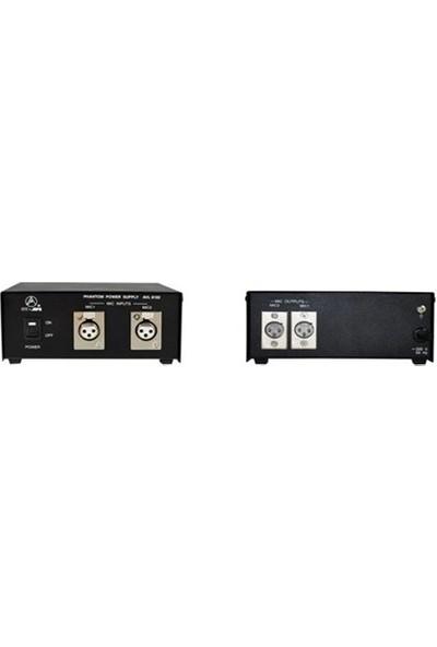 Av-Jefe Phm-6102 2 Kanallı Mikrofon Güç Ünitesi
