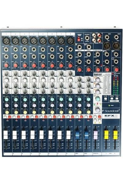 Soundcraft Efx8 Profesyonel 8 + 2 Kanal, Efektli, Analog Ses Mikseri