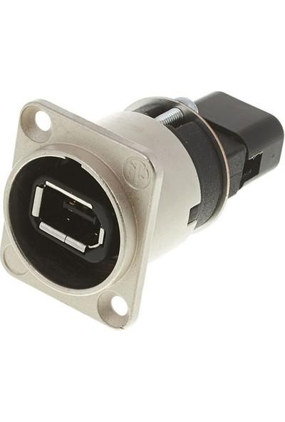 Neutrik Na1394-6-W 6 Pin Firewire Socket