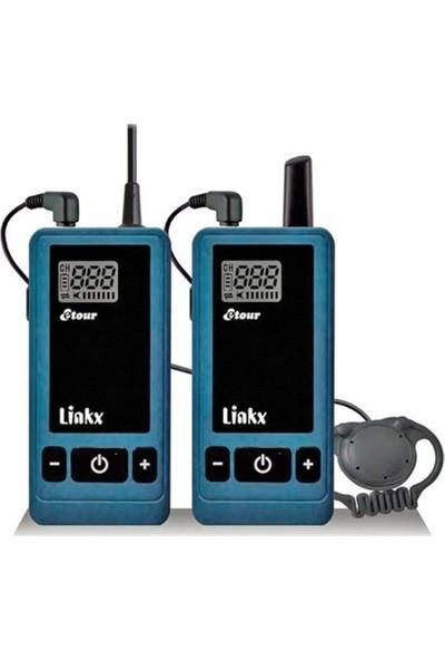 Linkx Tg-201R 2 Yönlü Tur Rehber Sistemi Alıcısı