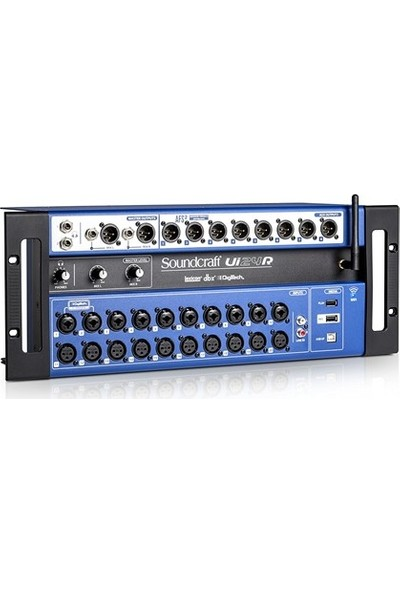 Soundcraft Ui24R 24-Channel Digital Mixer/Usb Multi-Track Recorder With Wireless Control