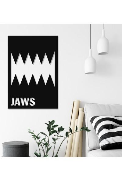 Balt Metal & Wood Jaws Dekoratif Duvar Tablosu