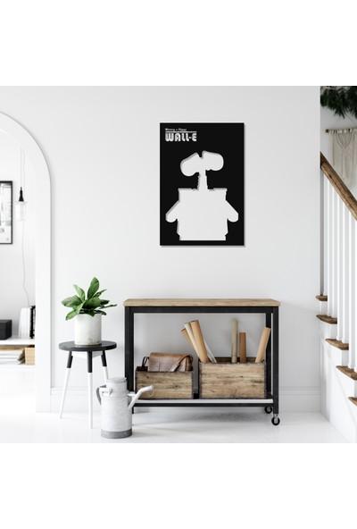 Balt Metal & Wood Wall-E Dekoratif Çocuk Odası Duvar Tablosu
