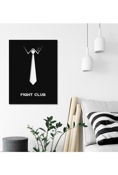 Balt Metal & Wood Fight Club Dekoratif Duvar Tablosu