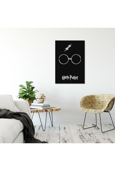 Balt Metal & Wood Harry Potter Dekoratif Metal Tablo