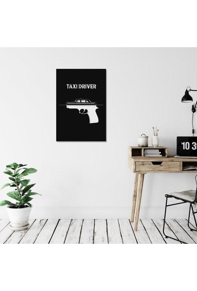 Balt Metal & Wood Taxi Driver Dekoratif Yatak Odası Duvar Tablosu