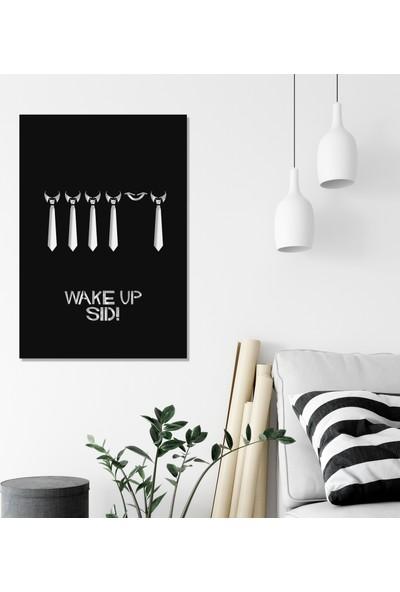 Balt Metal & Wood Wake Up Sid Dekoratif Çocuk Odası Duvar Tablosu