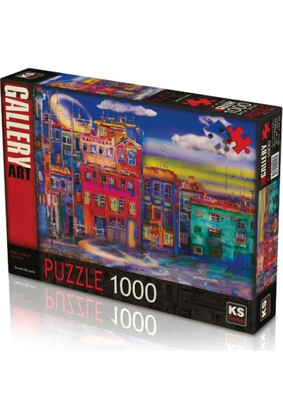 Ks Night Without The Moon 1000 Parça Puzzle