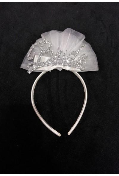Asimod Bride Havlu Tüylü Terlik ve Taç