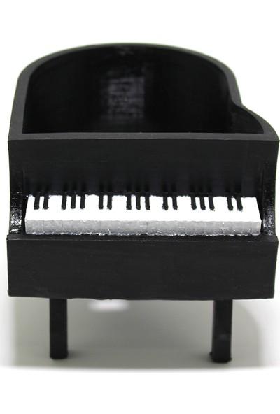 Propixel Siyah Piyano Kaktüs Sukulent Saksı