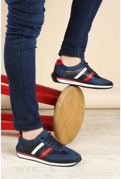 Fast Step Deri Erkek Sneaker Ayakkabı 856MA1798